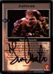 Zathras (signed by Tim Choate) [Psi Corps]