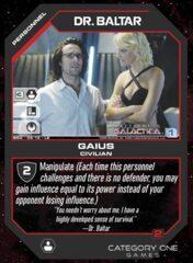 Dr. Baltar, Gaius (Foil)