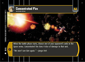 Concentrated Fire