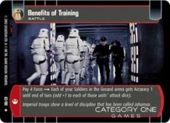 Benefits of Training - Foil