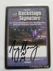 Backstage Signature - Joey Mercury