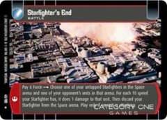 Starfighter's End - Foil