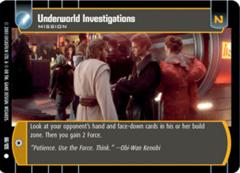 Underworld Investigations