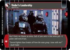 Vader's Leadership