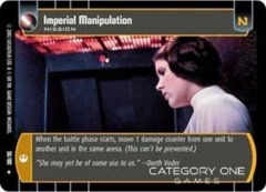 Imperial Manipulation - Foil
