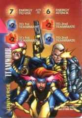 Universe: Teamwork-Energy 7E FI +2+2  Cyclops, Jean Grey & Cable