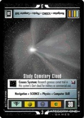 Study Cometary Cloud (2000)