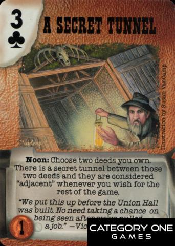 A Secret Tunnel