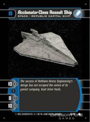 Acclamator-Class Assault Ship - Foil