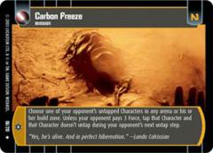 Carbon Freeze