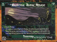 Ancestral Burial Mounds