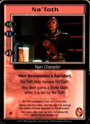NaToth (variant) (signed by Julie Caitlin Brown) [Premier]