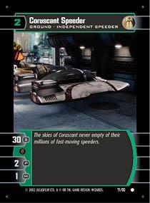 Corsucant Speeder
