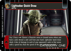 Lightsaber Quick Draw - Foil