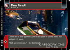 Close Pursuit - Foil