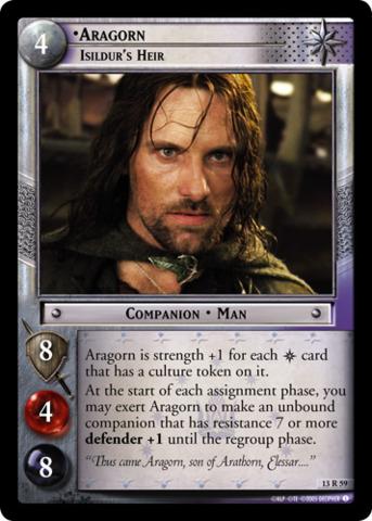 Aragorn, Isildurs Heir