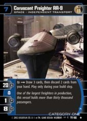 Coruscant Freighter AA-9 (A) - Foil