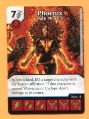 Dicemasters Promo - Phoenix, Dark Phoenix