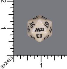 Spindown Dice (D-20) - Core Set 2021 (White)