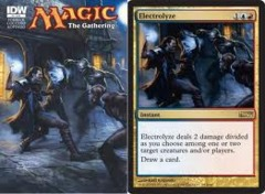 IDW Magic the Gathering Comic #4 - w/Electrolyze Promo