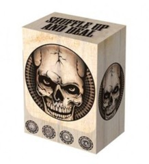 Legion Deck Box - Dead Man's Hand (Poker Face) (Holds 80 sleeved cards)