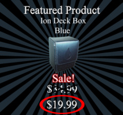 Ion Deck Box - Blue