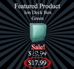 Ion Deck Box - Green