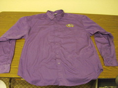 WOTC Long Sleeve Purple Judge Shirt