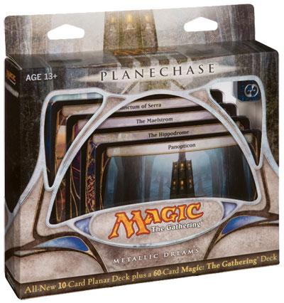 Planechase Game Pack - Metallic Dreams