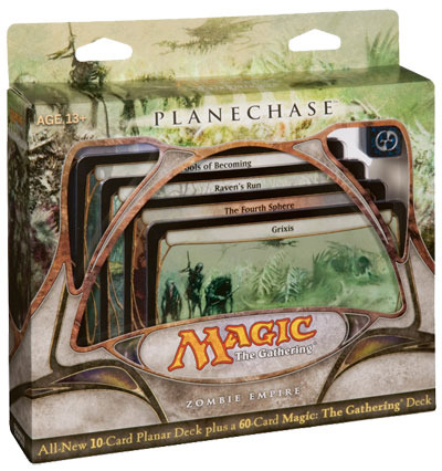 Planechase Game Pack - Zombie Empire