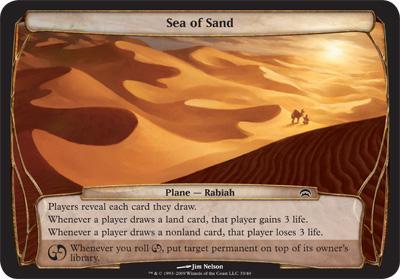 .Sea of Sand