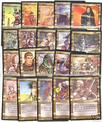 .Gold Uncommon Set (20 Cards)