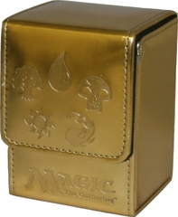 Ion Deck Box (Gold) - Mana Symbol