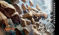 Worldwake Playmat - Raging Ravine