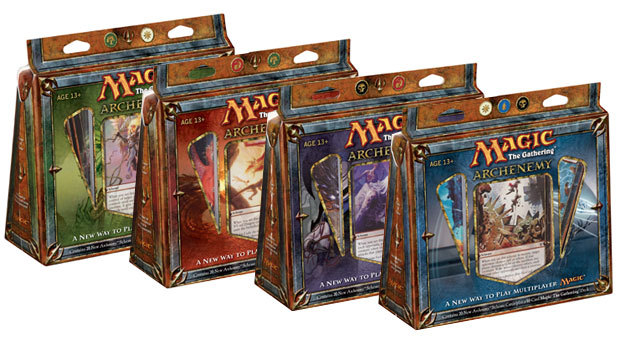 Archenemy Deck - Set of 4