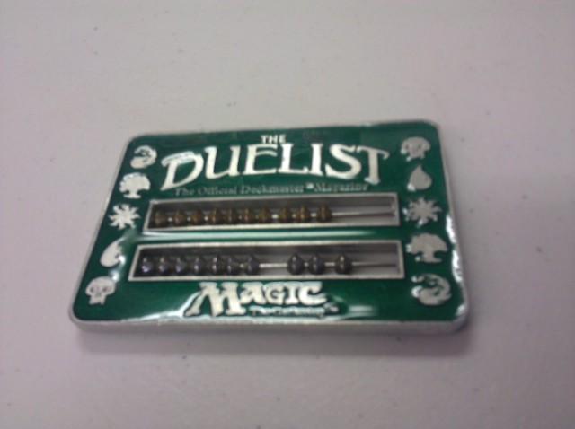 Duelist Abacus Life Counter - Green (Original 1995)