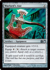 Warlord's Axe - Foil