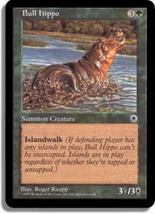 Bull Hippo (B) - No Flavor Text