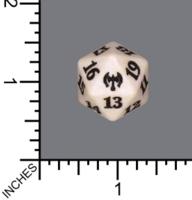 Spindown Dice (D-20) - Kaldheim (White)