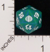 Spindown Dice (D-20) - Shards of Alara (Green)