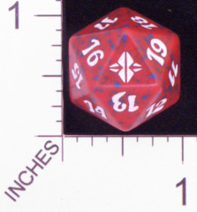 Spindown Dice (D-20) - Rise of the Eldrazi (Red)