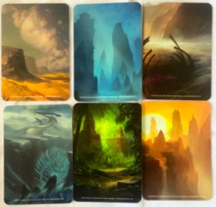 Magic the Gathering Card Dividers - Khans of Tarkir Block