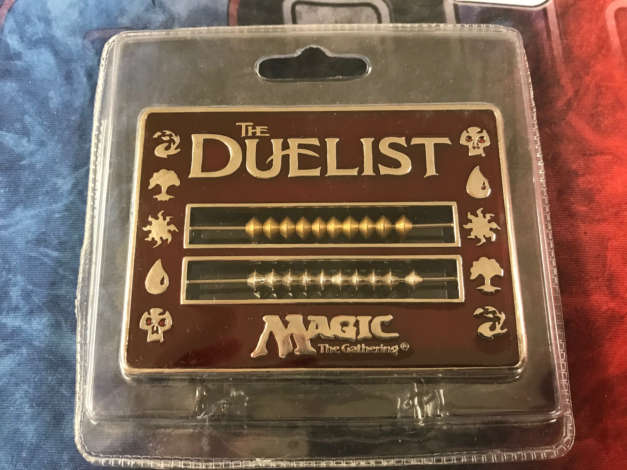 Duelist Abacus Life Counter - Red (96-98)