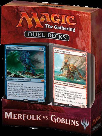 Duel Decks: Merfolk vs Goblins