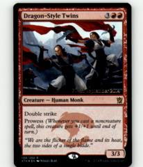 Dragon-Style Twins - KTK Prerelease