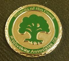 Commemorative Coin - WotC Employee Rewards (Green Mana)