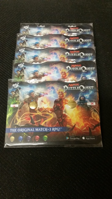 MTG Puzzle Quest Two-Player Life Counter