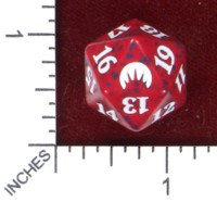 Spindown Dice (D-20) - Magic Origins (Red)