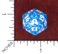 Spindown Dice (D-20) - Shadows over Innistrad (Blue)