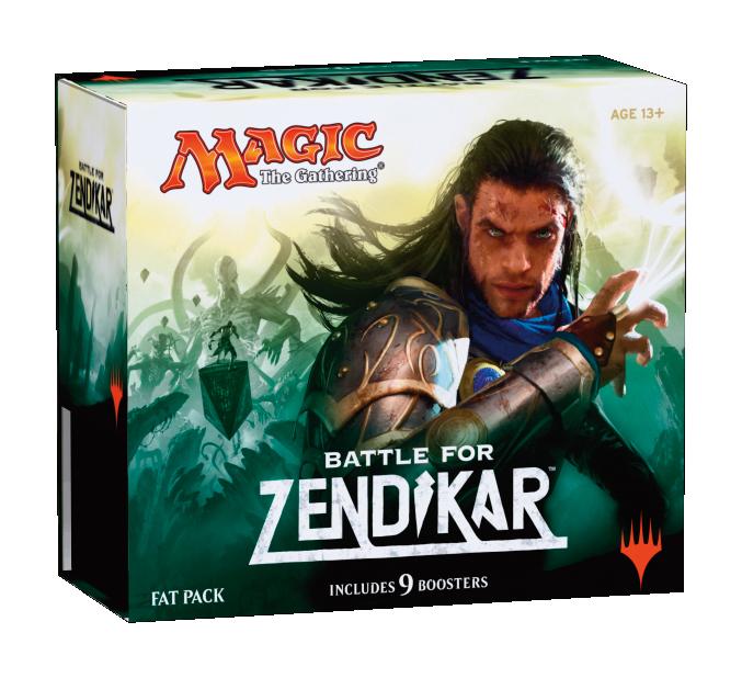 Battle for Zendikar Fat Pack
